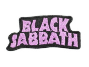 Black Sabbath patches 11.5x5 cm Iron on Patch / Embroidered Patch This Appliques Are Great for T-shirt, Hat, Jean ,Jacket, Backpacks.