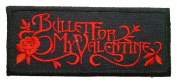 Bullet For my valentine patches 9.5x4 cm Iron on Patch / Embroidered Patch This Appliques Are Great for T-shirt, Hat, Jean ,Jacket, Backpacks.