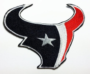 Houston Texans Patches 9.3x7.5 Cm Iron on Patch / Embroidered Patch This Appliques Are Great for T-shirt, Hat, Jean ,Jacket, Backpacks.