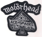 MOTORHEAD (British rock n' roll punker biker trio band logo patch) 10x8.5 CmIron on Patch / Embroidered Patch This Appliques Are Great for T-shirt, Hat, Jean ,Jacket, Backpacks.