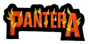 pantera patches 9.8x4.5 cm Iron on Patch / Embroidered Patch This Appliques Are Great for T-shirt, Hat, Jean ,Jacket, Backpacks.