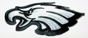 Philadelphia Eagles Patches 12x5 Cm Iron on Patch / Embroidered Patch This Appliques Are Great for T-shirt, Hat, Jean ,Jacket, Backpacks.
