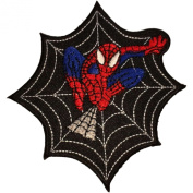 Spiderman Patches 9x9 Cm Iron on Patch / Embroidered Patch This Appliques Are Great for T-shirt, Hat, Jean ,Jacket, Backpacks.