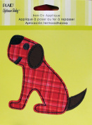 Uptown Baby 34313 Printed Fabric Iron on Appliques, Medium, Doggie