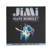 Jimi Hendrix Berkeley Wall Canvas
