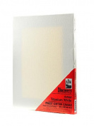 Discovery Finest Stretched Cotton Canvas white 30cm . x 41cm . each [PACK OF 3 ]