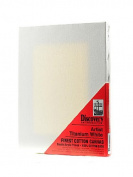 Discovery Finest Stretched Cotton Canvas white 25cm . x 36cm . each [PACK OF 4 ]