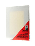 Discovery Finest Stretched Cotton Canvas white 20cm . x 25cm . each [PACK OF 6 ]