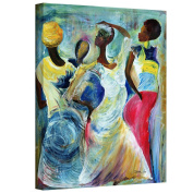 Art Wall beckford-003-18x 14-w Ikahl Beckford 'Sister Act 2002' Gallery-Wrapped Canvas Art, 46cm by 36cm