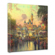 Thomas Kinkade Disneyland 50th Anniv Gallery Wrap Canvas