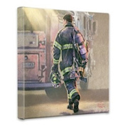 Thomas Kinkade Selfless Service Gallery Wrap Canvas