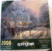 Thomas Kinkade Holiday Gathering 36cm x 36cm x 1.13cm canvas wrap