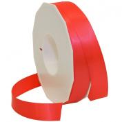 Morex Ribbon Neon Brights Satin, 2.2cm by 50-yard, Neon Red