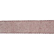 Vickerman 78140cm - 6.4cm x 10yd Red Glitter Mesh Ribbon