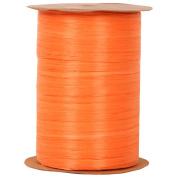 Orange 100 Yard Spools of Wraphia (Wraffia) Ribbon - Sold individually