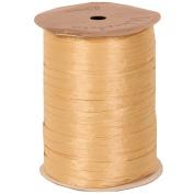 Oatmeal 100 Yard Spools of Wraphia (Wraffia) Ribbon - Sold individually