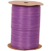 Purple 100 Yard Spools of Wraphia (Wraffia) Ribbon - Sold individually