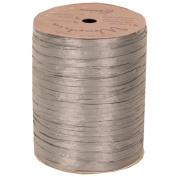 Silver 100 Yard Spools of Wraphia (Wraffia) Ribbon - Sold individually