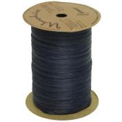 Navy Blue 100 Yard Spools of Wraphia (Wraffia) Ribbon - Sold individually