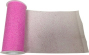 Reliant Ribbon Glitter Tulle Ribbon, Pink