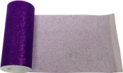Reliant Ribbon Glitter Tulle Ribbon, Purple