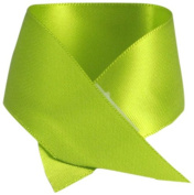 Schiff Ribbons 2244-5 20-Yard Polyester Double Face Satin Ribbon, 2.2cm , Lime