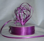 Ribbon - Satin Ribbon- 0.3cm Double Face 100 Yards (300 FT) - Purple - Sewing - Craft - Wedding Favours
