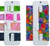 Fabric Fat Quarter Ribbon Organiser - Size