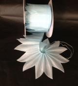 Light Blue Pull Bow Ribbon for Jordan Almond Candy Star 10 Yards