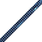 Venus Ribbon 14533-D 3 Row Pave Trim, 5-Yard, Turquoise