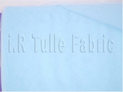 140cm X 40 Yard Wedding Tulle Light Blue Bolt for Wedding and Floral
