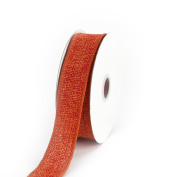 Creative Ideas Jute Ribbon, 2.2cm , Orange