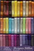 Designer Ribbon Value Pack - 36 Colours - 1 Yard Each - Solid Satin - Great Fun!