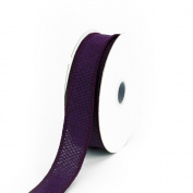 Creative Ideas Jute Ribbon, 2.2cm , Plum