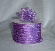 Organza Pull Ribbon Bows - 0.3cm - 100 Yards - Purple