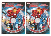 """Marvel Mighty Avengers (2 Pack) 96 pg Colouring & Activity Book """"Heroes Join Forces"""""""