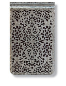 Paperblanks Silver Filigree Journals shadow Mini Reporter, 9.5cm . x 14cm . 192 pages, unlined