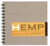 Hemp Heritage Sketch Book, 18cm x 18cm
