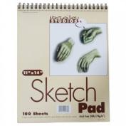 Marseilles Studios Sketch Pad 28cm . X 36cm . - Pad of 100