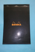 Rhodia 90009 No 19 A4 Drawing Pad 80 Sheets Black Cover