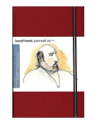 Hand Book Journal Co. Travelogue Drawing Journals 14cm . x 21cm . portrait vermilion red