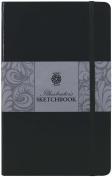 Pentalic Illustrators Sketchbook, 20cm by 13cm , Espresso