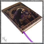 Black Raven & Pentagram Talisman Embossed Journal By Lisa Parker