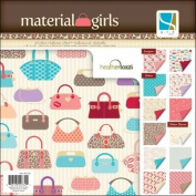 Gcd Studios 30cm by 30cm Material Girls Collection Paper Pad, 48 Double-Sided Sheet Per Pack