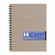 Hemp Journal Book, Large 22cm x 28cm