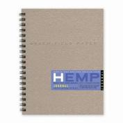 Hemp Journal Book, Large 22cm x 28cm