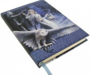Anne Stoke Curiosity Corner Midnight Messenger with Owl Embossed Journal