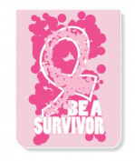Just Be PK-14332-SUR Just Be a Survivor Lined Pocket Pad/Notebook
