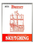 Discovery Sketching Pads 28cm . x 22cm . 100 sheets [PACK OF 2 ]