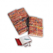 Lama Li Vintage Sari Silk Journal- 15cm x 21cm